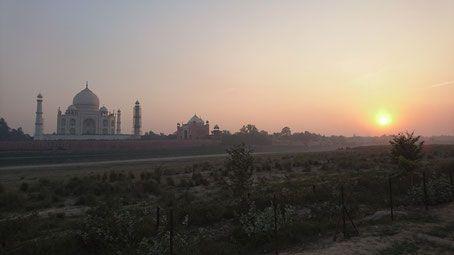 Mehtab Bagh - Sunset Point Taj Mahal