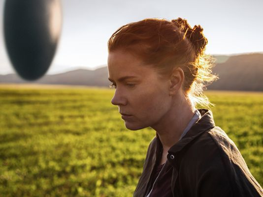 """Aliens come to Earth again in the new sci-fi film """"Arrival,"""" this time with an intimate, thoughtful tale rather than a destructive invasion — starring Amy Adams and Jeremy Renner. In theaters November 11th.:"""