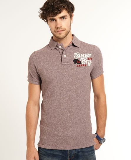 Superdry Appliqué Polo-Shirt