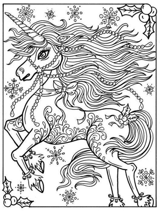 Christmas Unicorn Coloring Pages Unicorn Coloring Pages Cat Coloring Page Coloring Pages