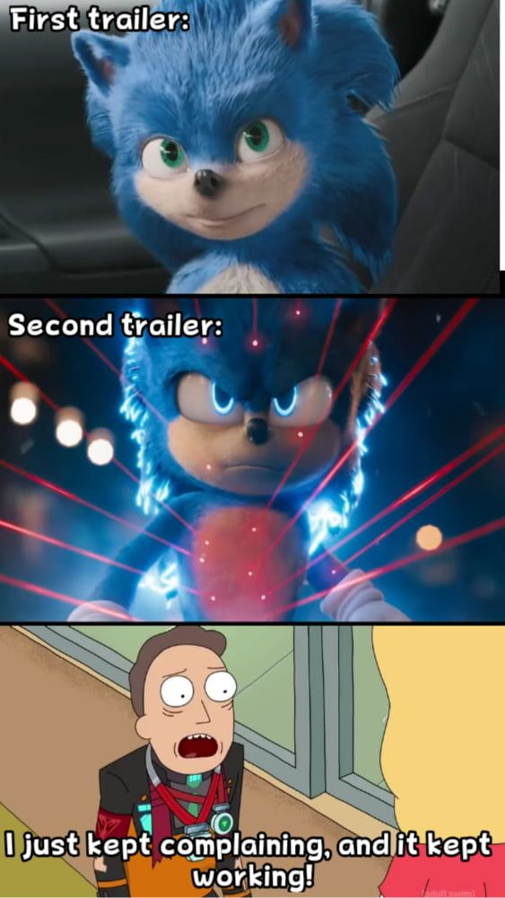 Old Sonic Bad New Sonic Good With Images Funny Memes Sonic Funny Funny Video Memes