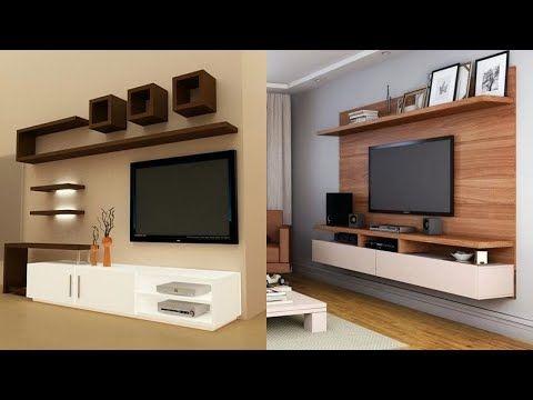 Modern Living Area Led Tv Wall Unit Design Ideas House Interior Design Ideas Youtube Wall Tv Unit Design Modern Tv Wall Units Wall Unit Designs