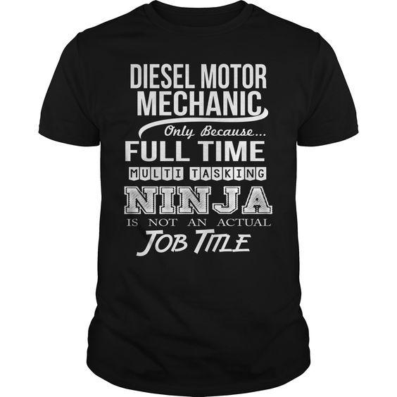 DIESEL MOTOR MECHANIC T-Shirts, Hoodies. GET IT ==►…