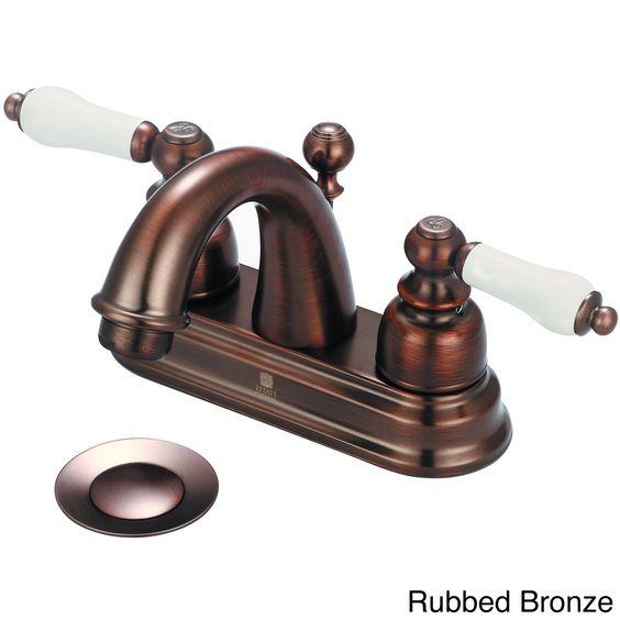 Pioneer Brentwood Series 3Br210 Doublehandle Porcelain Handles Pleasing Porcelain Handle Bathroom Faucet Inspiration