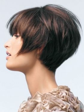 Love the shape in back! #hair we love this #hair