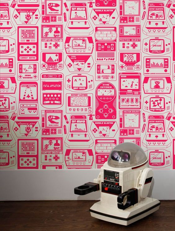Gameland comprises hand-held video games from the 80's imagined by Aimée, and is included in the permanent archive at the Brooklyn Museum of Art. Material: Screen-printed by hand on clay-coated, FSC-c