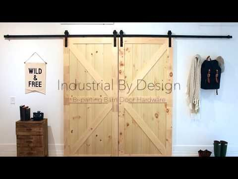 Products Industrial By Design Double Sliding Barn Doors Barn Door Hardware Barn Door