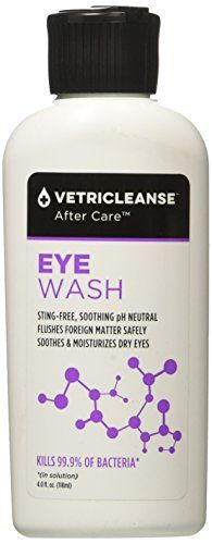 VetriCleanse After Care Eye Care Wash/Rinse for Pets, 4 fl. oz. -- Be sure to check out this awesome product.