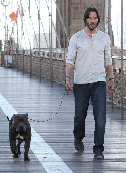 Keanu Reeves Photos - Keanu Reeves Performs on the Set of 'John Wick 2' - Zimbio