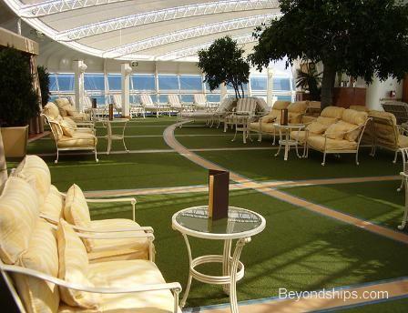Emerald Princess Cruise Ship Sanctuary Lotus Spa