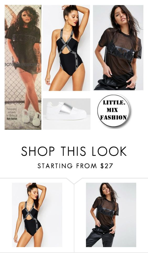 """Jesy in Fabulous Magazine"" by mixerfromsweden ❤ liked on Polyvore featuring Jaded, ASOS and River Island"