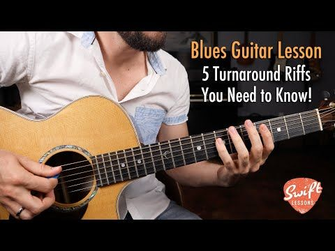 5 Blues Guitar Turnarounds You Need To Know Youtube Guitar Guitar Lessons Songs Blues Guitar