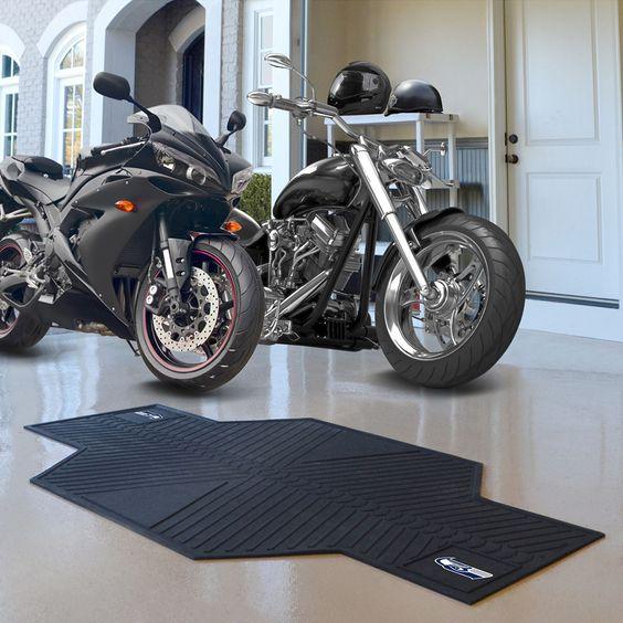 Seattle Seahawks NFL Motorcycle Mat (82.5in L x 42in W)