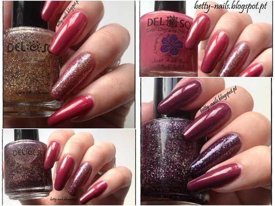 Betty Nails: Del Sol #3 - Girls Night Out + Heatbreaker - PhotoChromatic Color Changing Polishes [Swatches & Review]