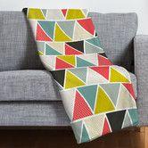 Found it at AllModern - Heather Dutton Triangulum Polyesterrr Fleece Throw Blanket Ll bedroom