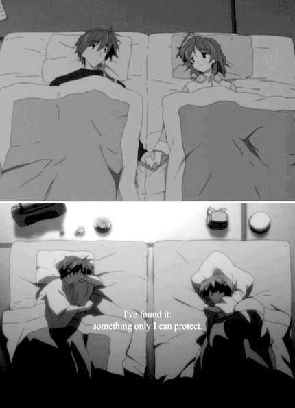 clannad feels, first time tearing up on Pinterest! God I love Clannad!