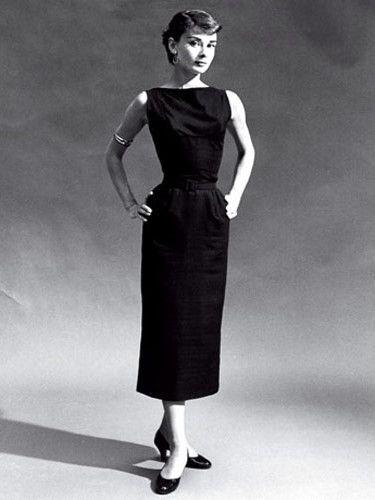 Audrey Hepburn - little black dress  Wardrobe Essentials ...