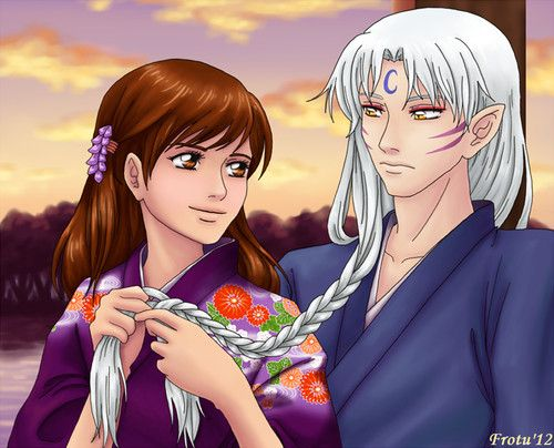 Sesshomaru and rin adult anime couple doujin pinterest - Adult manga 2 ...