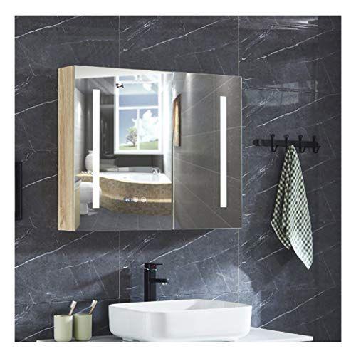 Lyxdzw Bathroom Mirror Cabinet Led Illuminated Bathroom Mirrors Led Illuminated Bathroom Mirror Cabinet In 2020 Bathroom Mirror Cabinet Mirror Cabinets Shower Mirror
