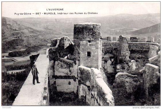 ruines chateau - Delcampe.net