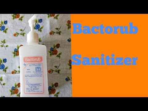 Hand Sanitizer Bactorub Youtube Hand Sanitizer Sanitizer