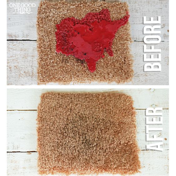 How To Get Candle Wax Out Of Your Carpet | One Good Thing By Jillee