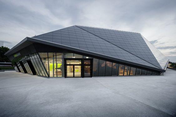 René Schmid Architekten – Umweltarena