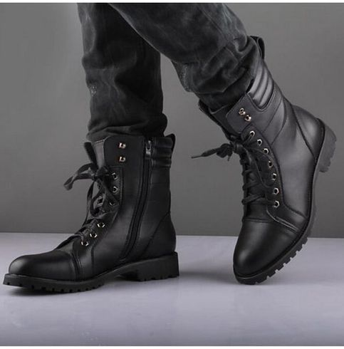 Rocker boots, Rock style men, Punk boots