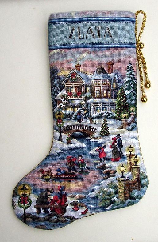 bill stocking christmas cross stitch christmas christmas stocking cross stitch stockings textile crafts stitch kits christmas patterns