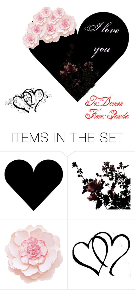"""To Someone Certain.."" by panda-demon ❤ liked on Polyvore featuring art"