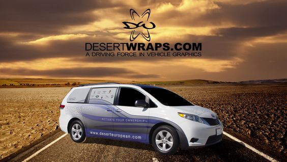 Van wrap. Learn more at http://www.DesertWraps.com