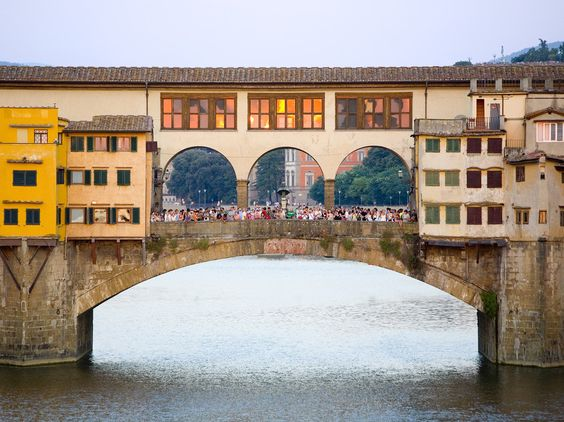 Florence is once again Condé Nast Traveler's no. 1 city in the world, as voted by our readers, and its classic glamour also makes it beloved by photographers. The good news for visitors is that many of the most-photographed places are quite close to each other, including Ponte Vecchio, the Uffizi, and the Piazza della Repubblica.: