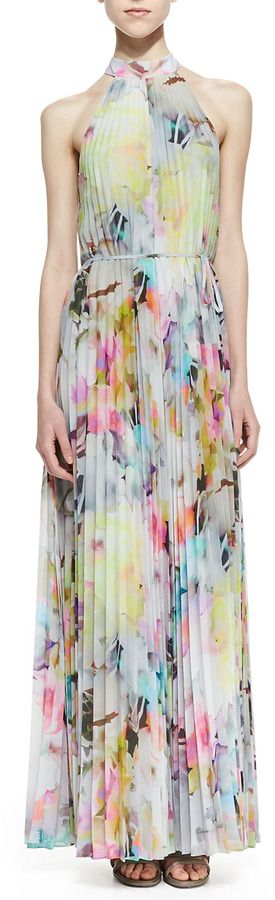 Ted Baker London Hecuba Electric Day Dream Maxi Dress