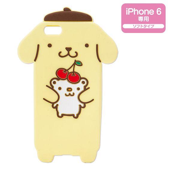 ポムポムプリン iPhone 6カバー(ひんやりプリン) サンリオオンラインショップ , 公式通販サイト