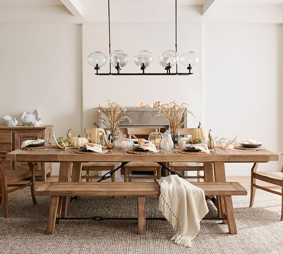 Pin By Bethany Armstrong On Apartment In 2021 Extendable Dining Table Reclaimed Wood Dining Table Wood Dining Table