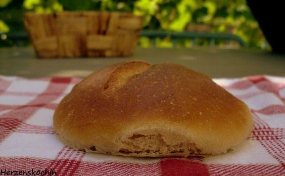 Badische Wecken 1.Versuch zum Bread Baking Day #69