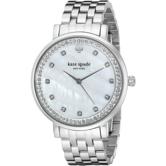 Kate Spade Women's 1YRU0820 'Monterey' Crystal Watch