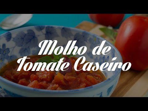 Molho de Tomate Caseiro | Dicas de Bem-Estar - Lucilia Diniz - YouTube