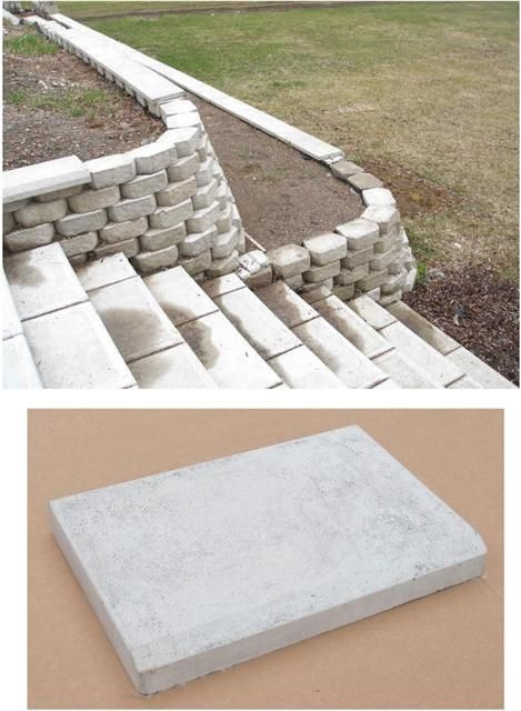 Retaining Wall Block Cleaner : Retaining wall blocks concrete molds and walls on