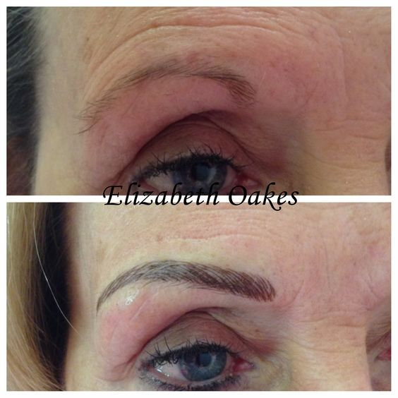 Eyebrow embroidery the european institute of permanent for How is microblading different to tattooing