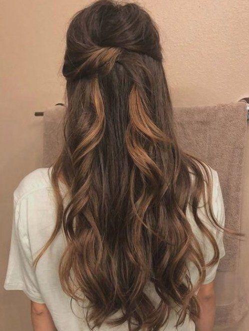 Prom Hoco Hair Wedding Updo Hairstyles Braid Styles For Long Or Medium Length Hair Easy Hairstyles For Women H In 2020 Wedding Hair Down Long Hair Styles Hair Styles