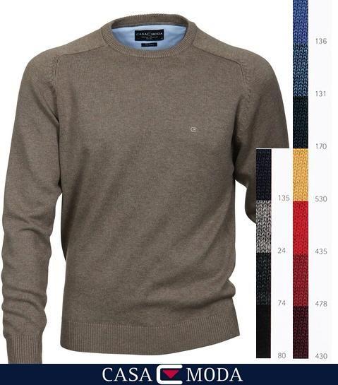 CasaModa O-Neck Pullover, wählen Sie Ihren aus 11 verschiedenen Farben. http://www.the-big-gentleman-club.com/casa-moda-004260-o-neck-pullover-6-farben-xxl-uebergroesse.html