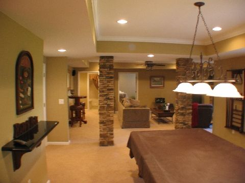 Pinterest the world s catalog of ideas for Country basement ideas
