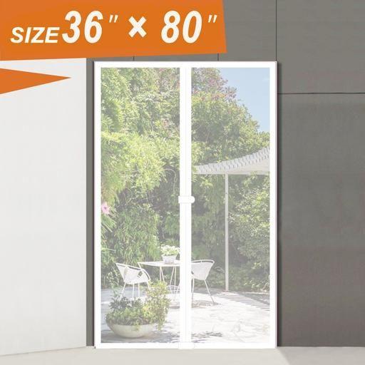 36x80 Magnetic Screen Door Magzo Screen Door Magnetic Screen Door Screen Door Cabin Doors