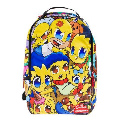 Sprayground Simpsons Anime Backpack Bags Sprayground Backpacks