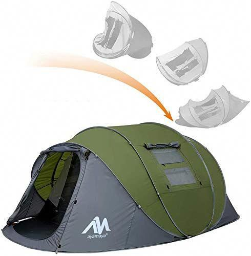 New ayamaya Pop Up Tents with Vestibule for 4 to 6 Person