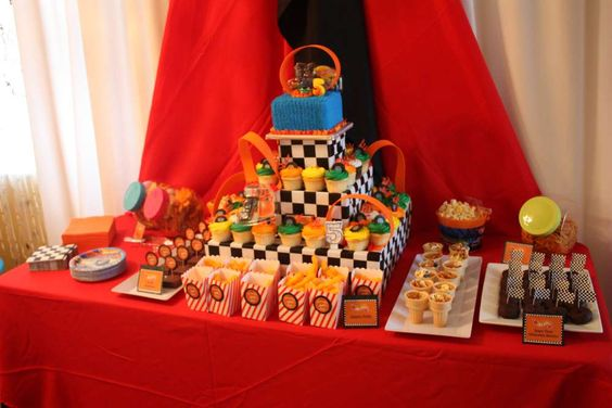 Hot Wheels Birthday Party Ideas | Photo 1 of 32 | Catch My Party: