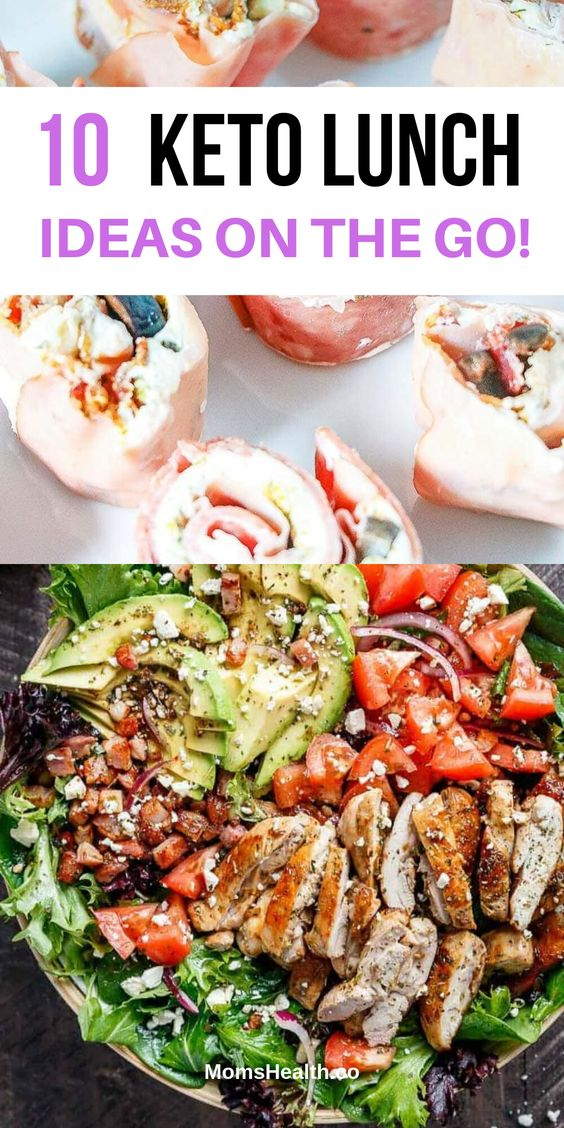 Easy Keto Lunch Ideas On   the Go - Best LCHF Recipes for Work and Home Lunches