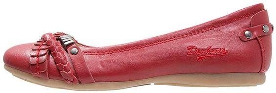 Dockers by Gerli Klassische Ballerina rot