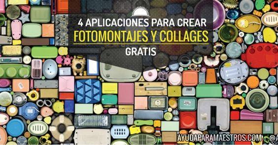 AYUDA PARA MAESTROS: 4 aplicaciones para crear fotomontajes y collages gratis